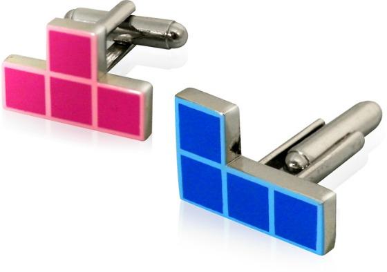 Tetris manschettknappar