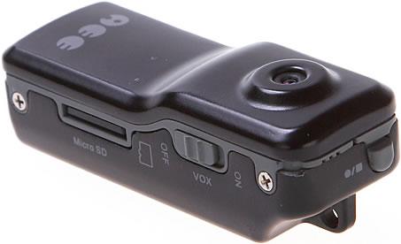Pytteliten DV-kamera