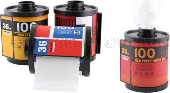 Toalettpappershållare för fotografer