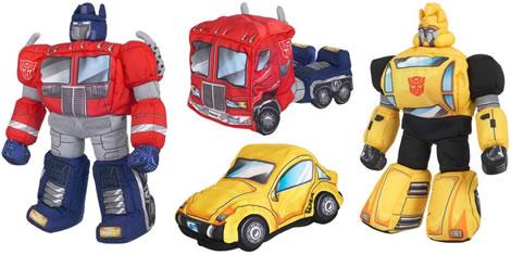 Transformers-mjukisar