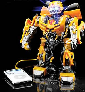 Transformers MP3-högtalare