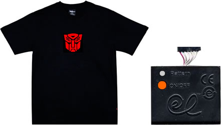 Animerad Transformers T-shirt