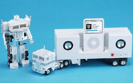 Transformers iPod-docka med högtalare