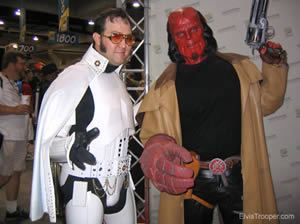 Elvis Trooper + Hellboy