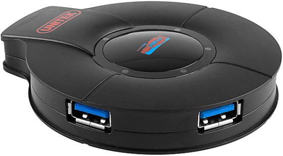 Supersnabb USB 3.0-hubb