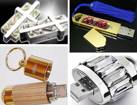 Bling-bling USB-minnen