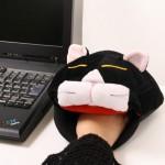 USB-uppvärmd katt som musmatta