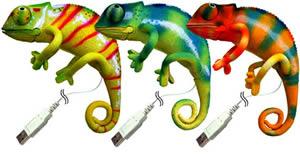USB-kameleonter