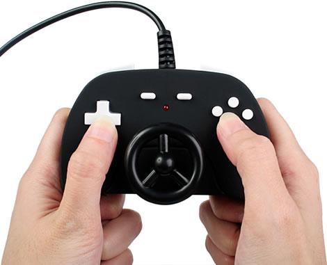 USB-spelkontoll i miniformat
