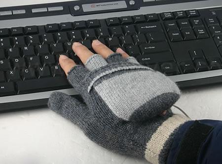 USB-handskar med värme