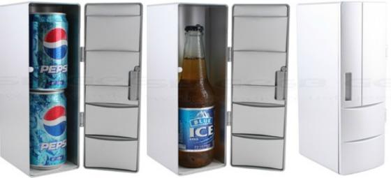 USB-kylskåp för dubbla bukar eller flaska