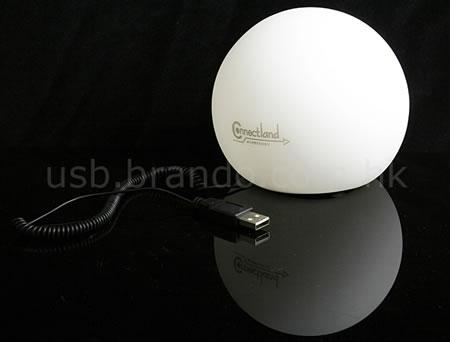 Lugnande USB-boll