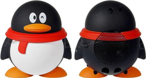 USB-högtalare i form av en pingvin