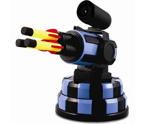 Raketramp med webkamera