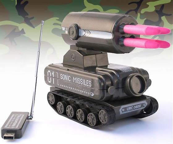 USB-tank med raketramp