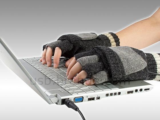 USB-vantar med inbyggd värme