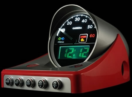 V8-väckarklocka