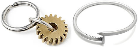 Nyckelring & armband