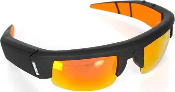 Solglasögon med videokamera