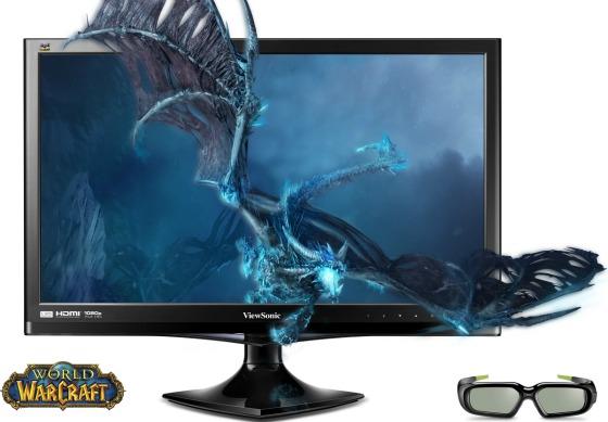ViewSonic 3D Vision LED-skärm