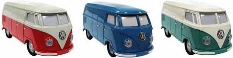 VW-buss som klockradio