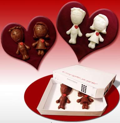 Nintendo Wii Mii av choklad