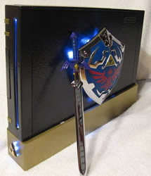 Legend of Zelda Wii Case Mod