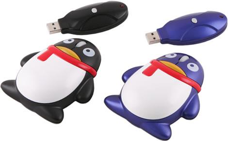 Trådlös pingvinmus