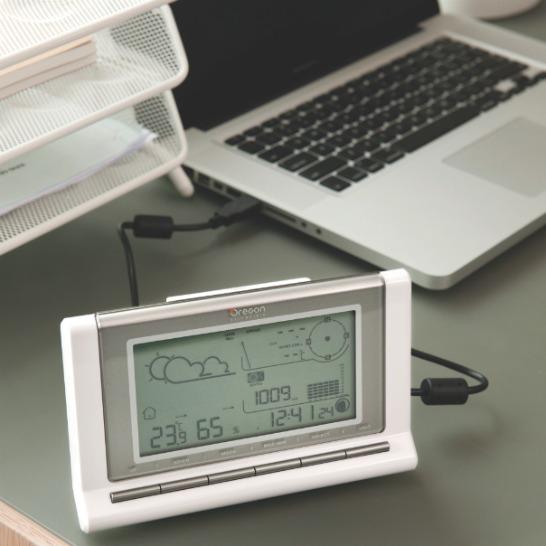 Väderstation med USB