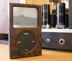 iPod-fodral i trä