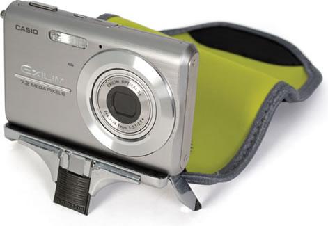 Kameraväska med inbyggt stativ