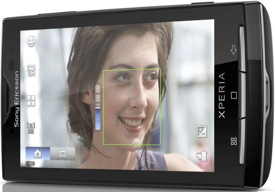 Sony Ericsson Xperia X10 Android mobiltelefon