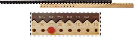 Zig Zag Calendar