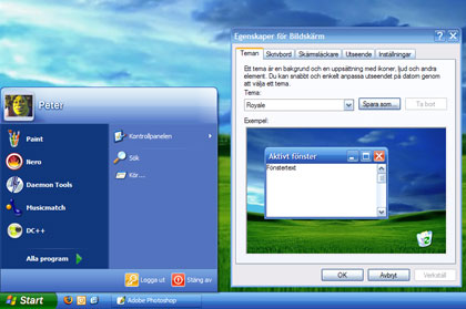 Windows XP Tema - Royale
