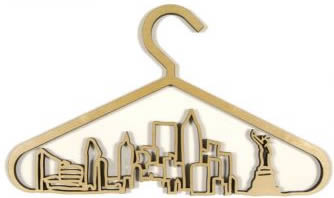 CityScape Coat Hanger