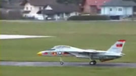 F-14 modellflyg