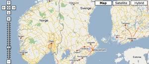 Geokodning för Sverige
