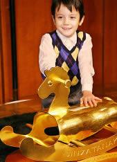 Gunghäst av guld