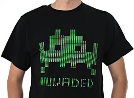 Uarm Space Invader Tee