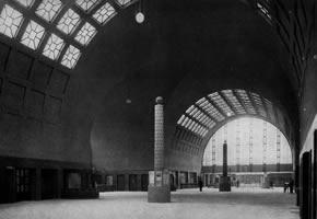Karlsruhe tågstation 1913