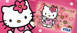 Hello Kitty kreditkort