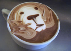 Vacker kaffe