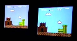 Super Mario Brothers Race