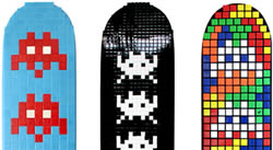 Space Invader Skateboards
