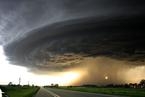 28 maj, 2004 Highway 12 Nebraska Supercell