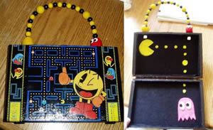 Pac-Man Cigar Box Purse