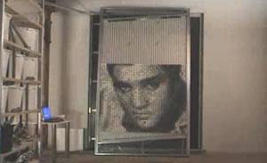 PingPongPixel: Elvis
