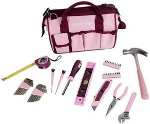 Rosa verktygsset