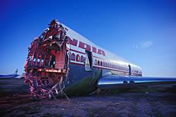 Flygplansvrak