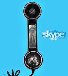 Retro Skype Phone